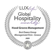 Best Dance Group Management Firm - Global Hospitality Awards 2020