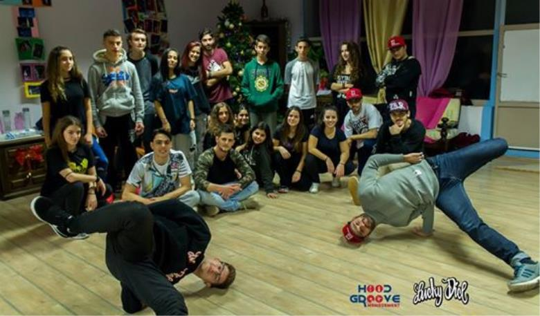 Breaking workshop at Kallichoros