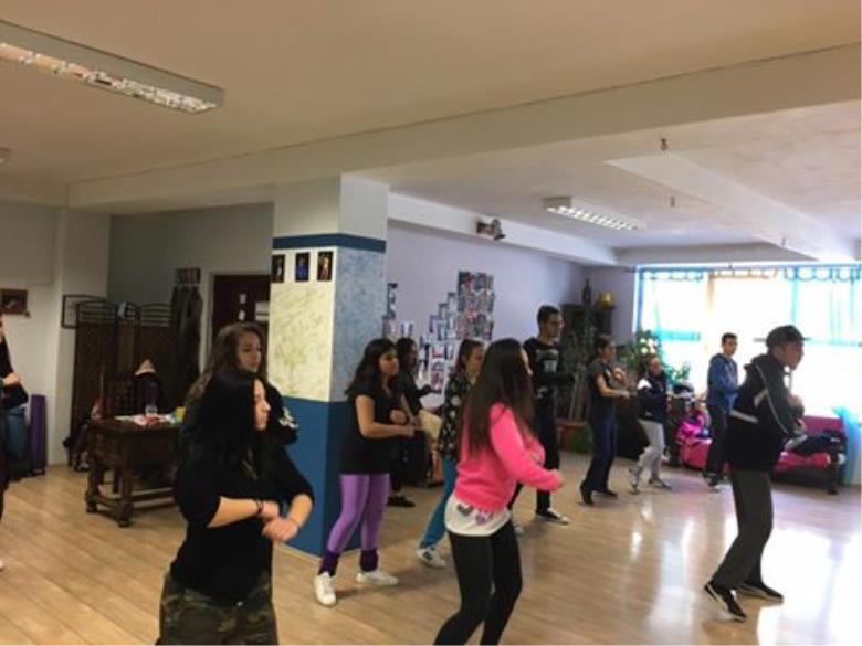 Hip Hop workshop at Kallichoros